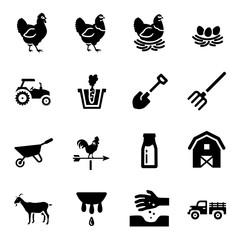 Agriculture Farming Vector Icon