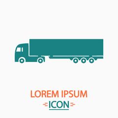 Big Truck computer symbol