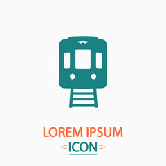 Train computer symbol
