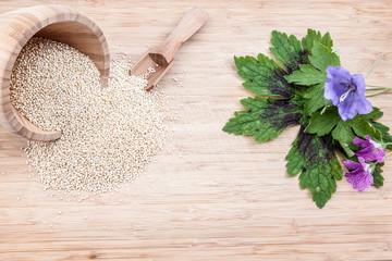 the quinoa spice