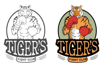 Set of Tiger logo