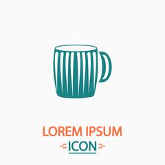 beer mug computer symbol