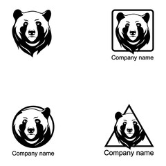 Set of Bear logo
