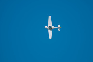 Ultralight Airplane - Top View