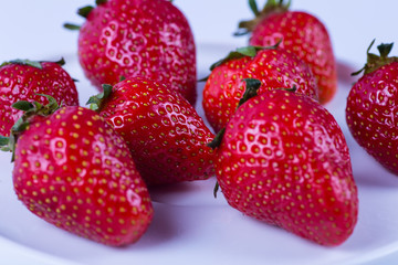 wonderful fresh strawberries