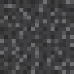 Abstract vector block texture black. Pixel background