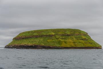 Beautiful Faeroe islands, summer time