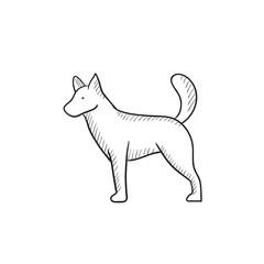 Dod sketch icon.