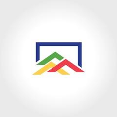 square roof shape logo