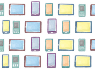 Digital Devices Technology Graphics Connection Concept