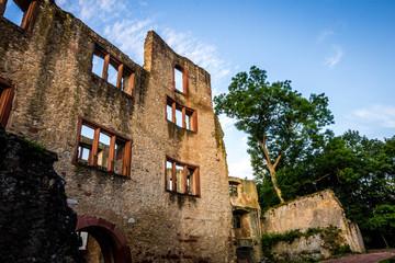 Ruine der Burg Landskron in Oppenheim