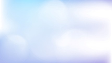Light blue abstract gradient bokeh background