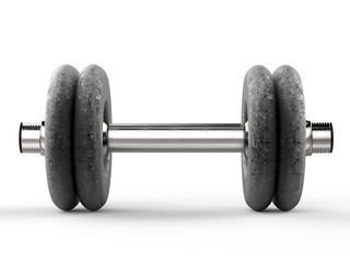 metal dumbbell
