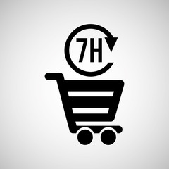 cart shopping  design