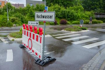 Hochwasser im Sommer 2016