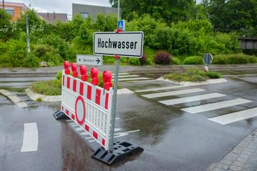 Hochwasser in Ehingen