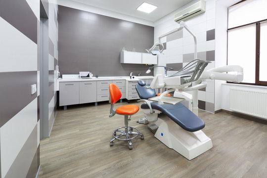 Interior of modern dental office.