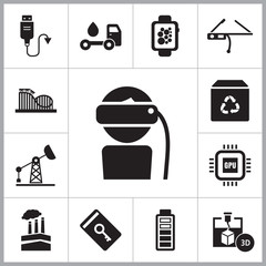 Innovations Icons Set