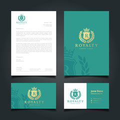 Luxury Logo and Corporate Identity Template.