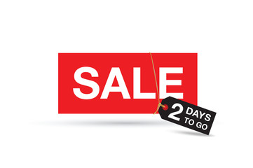 two day sale sign