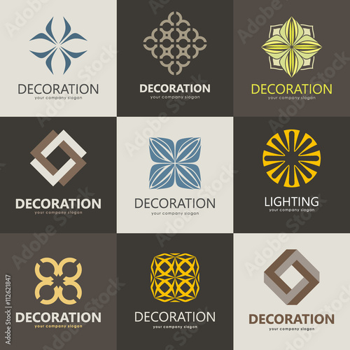 A Collection Of Logos For Interior Furniture Shops Companies Make