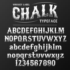 Chalkboard font / chalk font, chalkboard typeface