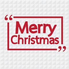Merry Christmas lettering illustration design