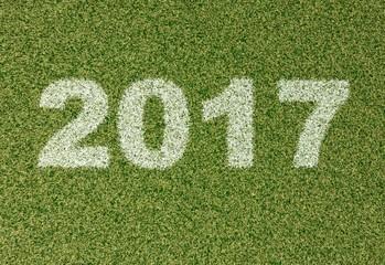 2017 grass font