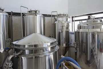 Small brewery,craft beer production