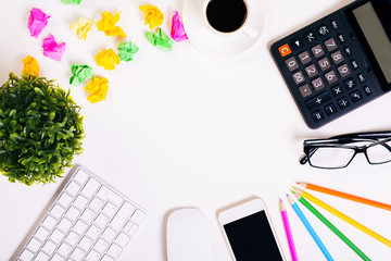 Creative office desk top