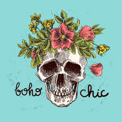 boho chic illustration