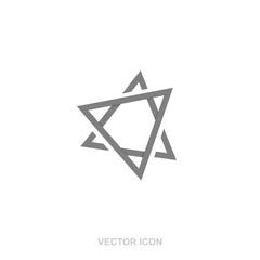 Geometric logo design.