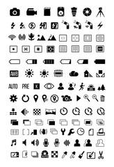 Camera mode Icons