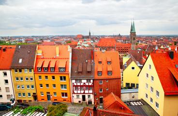 Wall Mural - Altstadt in Nuremberg