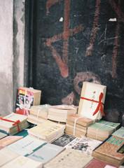 Bundles of Chinese books