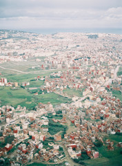 Birds eye view of Tangiers