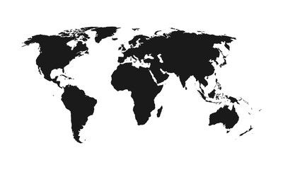 World map - vector.