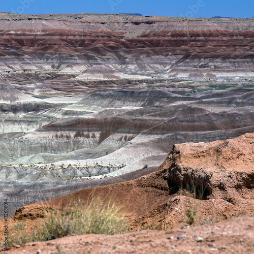 Little Painted Desert on Hopi Tribal Land in northern