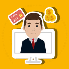 businessperson avatar  design