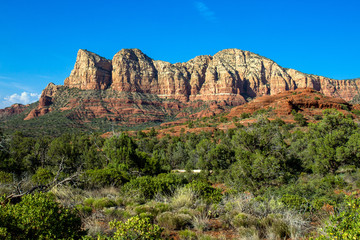 Red Rock mountain range in Sedona, Arizona
