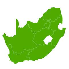 南アフリカ 地図 国 アイコン