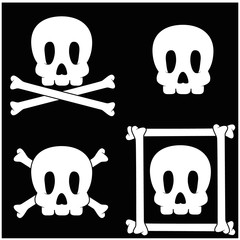 skull and crossbone icons