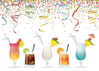 Confetti Cocktails