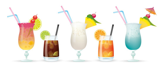 Cocktail Set Header