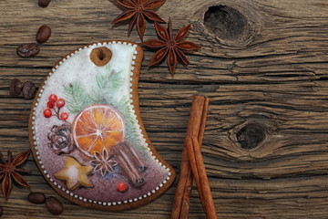 Painted gingerbread