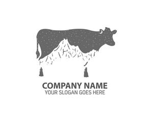 Night Cow Logo Icon