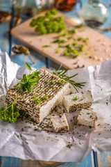 Soft goat cheese
