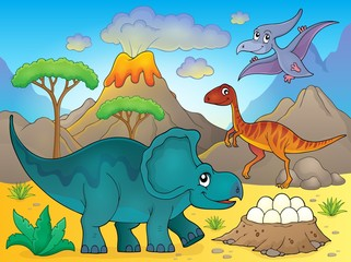 Image with dinosaur thematics 3