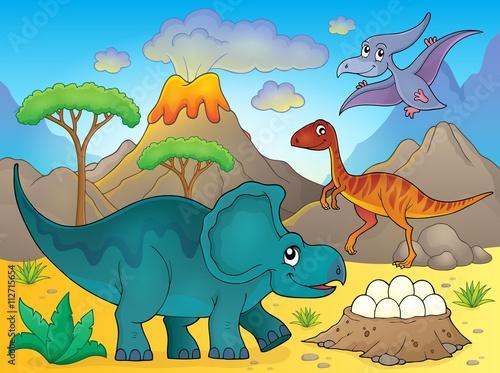 Image with dinosaur thematics 3