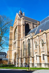 The St. Salvator's Cathedral in Bruges, Belgium